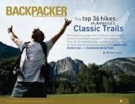 BACKPACKER | Classic Trails Premium