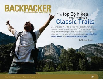 BACKPACKER | Classic Trails Premium