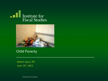 Download full version (PDF 264 KB) - The Institute For Fiscal Studies