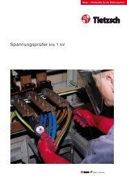 Spannungsprüfer bis 1 kV - bei Tietzsch