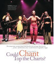 Could Chant Top the Charts? - Anna Dubrovsky