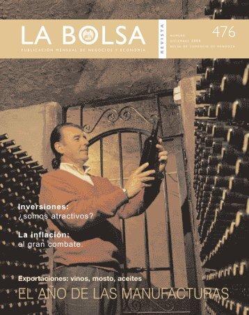 Bolsa Diciembre.qxd - Bolsa de Comercio de Mendoza