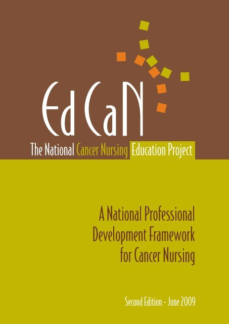 A national professional development framework ... - Cancer Learning