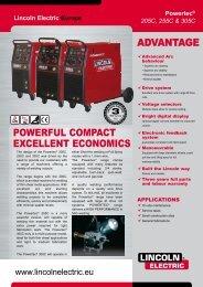 Powertec 205C/255C/305C - Lastraga