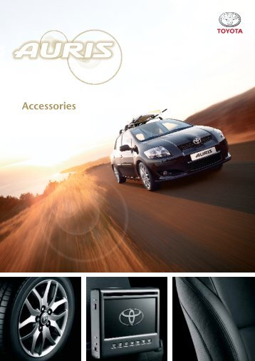 Accessories - Toyota