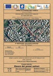 Elenco dei prezzi unitari - Comune di Torre del Greco