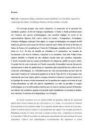 Tombes à armes et auxiliaires gaulois aux IIe et Ier siècles avant ...