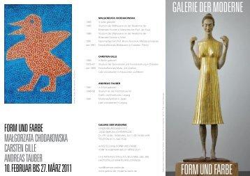 galerie der moderne Form und Farbe