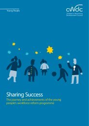 Sharing Success - Partnership for Young London