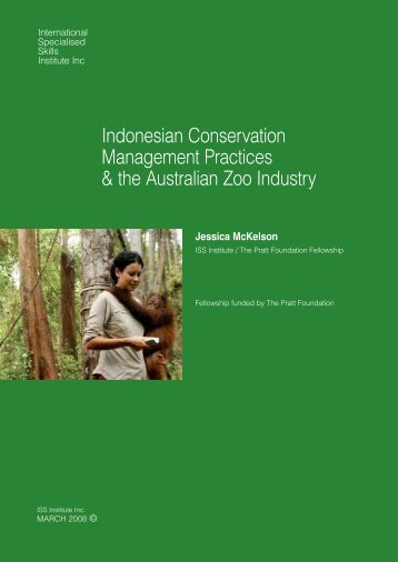 Indonesian Conservation Management Practices & the Australian ...