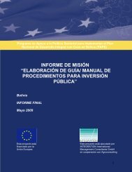 Elaboración de Guía/Manual de Procedimientos para Inversión