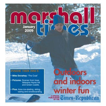 Outdoors and indoors winter fun - Times Republican