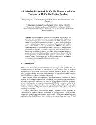 A Prediction Framework for Cardiac Resynchronization Therapy via ...