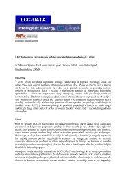 LCC kot osnova za trajnostno upravljanje stavb - ZRMK