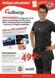 Äntligen yrkeskläder! - Gullbergs