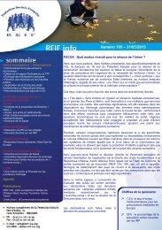 Numéro 195 – 31/05/2013 - La Représentation des Institutions ...
