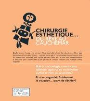 Chirurgie esthétique… du rêve au cauchemar - Réseau québécois d ...