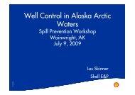 Well Control in Alaska Arctic Waters