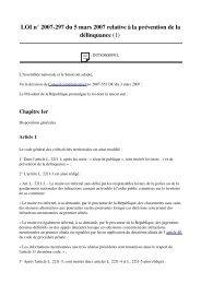 Prévention Délinquance - Globenet