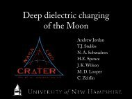 Deep dielectric charging of the Moon - NASA Lunar Science Institute