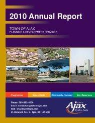 2010 Annual Report - Ajax Business