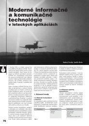 Moderné informačné a komunikačné technológie - ATP Journal