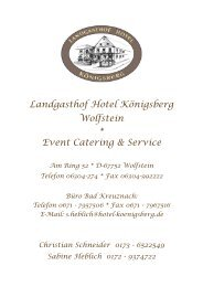 der KOTA-Lachs-Grill für Ihre Veranstaltung! - Hotel-Restaurant ...