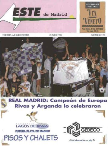 """Revista """"Este de Madrid"""" (1991-2009) - Archivo de Arganda del Rey"""