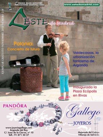 """Revista """" Este de Madrid"""" (1991-2010) - Archivo de Arganda del Rey ..."""