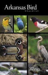 Arkansas Bird Checklist - Arkansas Game and Fish Commission