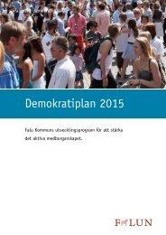 Demokratiplan 2015 - Falu Kommun