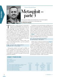 Metasploit – parte 3 - Linux New Media