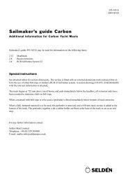 Sailmaker's guide Carbon
