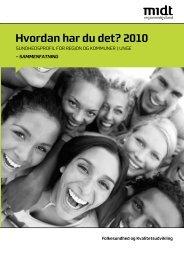 Hvordan har du det? 2010 - CFK Folkesundhed og Kvalitetsudvikling