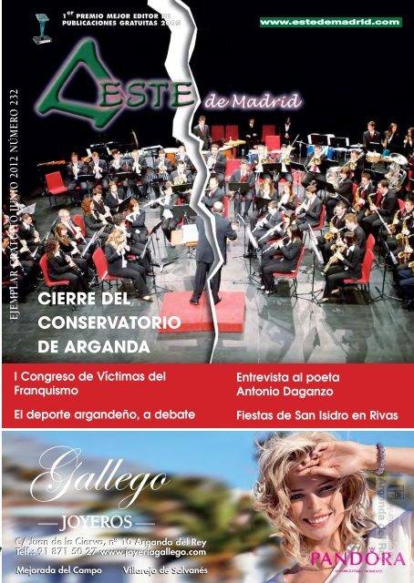 """Revista """" Este de Madrid"""" (1991-2012) - Archivo de Arganda del Rey ..."""