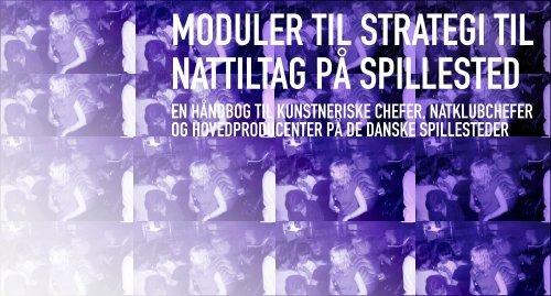 moduler til strategi til nattiltag på spillested - Nobelbiblioteket