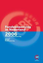 fondsenwerving in nederland 2006 - CBF
