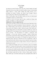 1 ACTA Nº 03/10 03-02-10 Aos três dias do mês de Fevereiro de ...