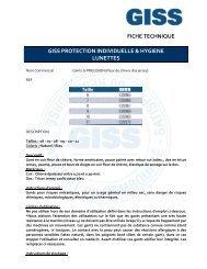 839964 FT GISS Gants G PRECISION
