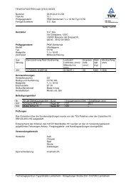 TEILEGUTACHTEN nach §19(3) StVZO Nummer 05 ... - A1talk.de
