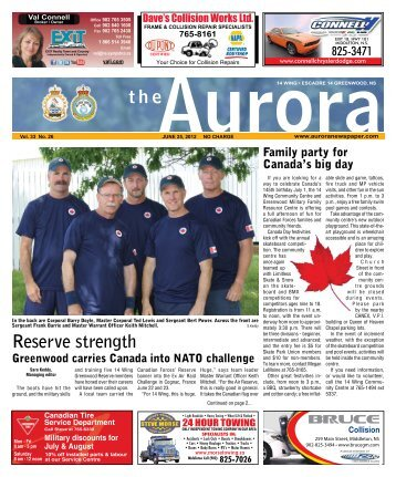 June 25 2012 - The Aurora Newspaper