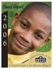 2006 Citizen Foster Care Review Board Annual Report