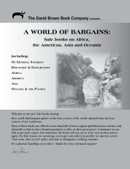 A World of BArgAIns: - Oxbow Books