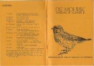 1985 nummer 1 - Vogelwerkgroep Nijmegen