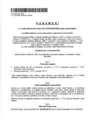 Oznámení o 3. kole výběrového řízení - Kasejovice