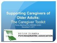 Caregiver Toolkit Webinar Dec 5 2011.pdf - Canadian Dementia ...