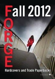 Fall 2012 Forge Frontlist Catalogue (PDF) - Raincoast Books
