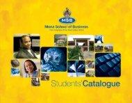 Mona School of Business… - Uwi.edu