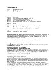 Congres LASTIG - MEE Zuidoost Brabant