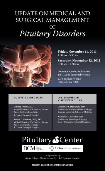 OF Pituitary Disorders – CME Activities